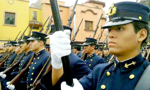 Independence Day Peru - Soldiers