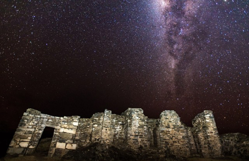 Choquequirao Hike - Ruins under stars