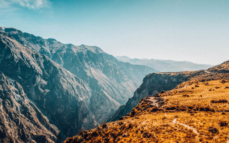 Colca Canyon second deepest canyon in the world arequipa