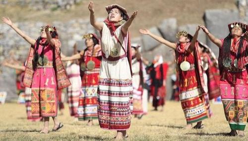 Inti Raymi Festival - Dance Ceremony