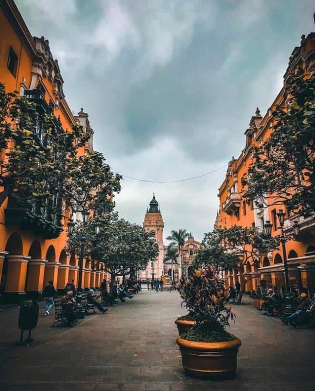 Centro de Lima - caminhada por Lima peru