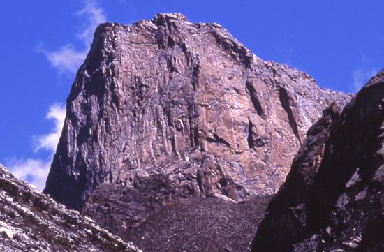 Rock Climbing in Peru - Torre de Paron