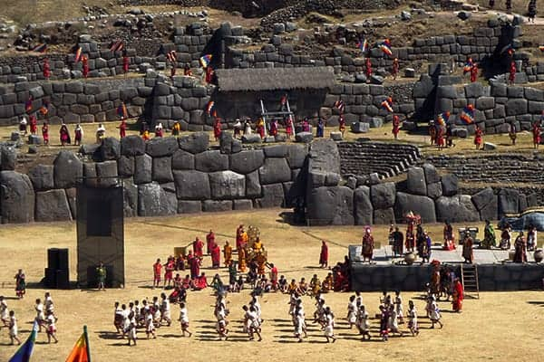 sacsayhuaman-ceremony-for inti sun god