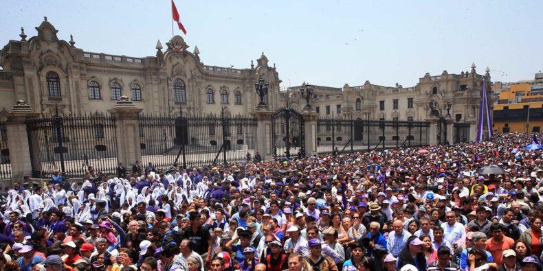 Señor de los Milagros in Lima Perú