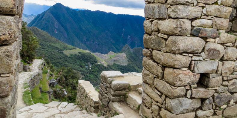 La porte du soleil au Machu Picchu.