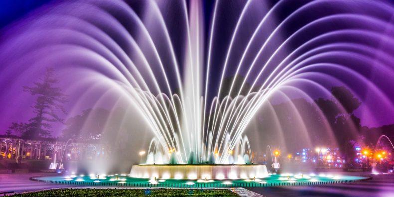espetáculos de luzes e água em Lima - tour em lima