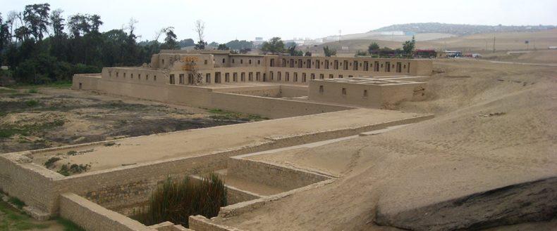 vista do santuario de pachacamac em Lima - Tour em Lima