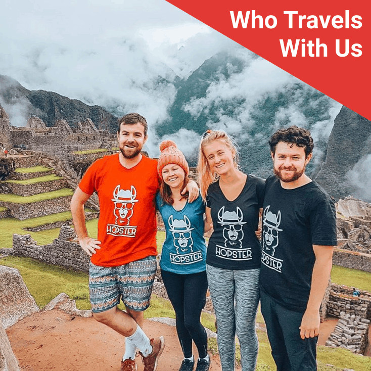 Who travels with us